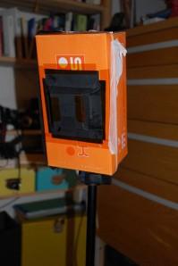 camera pinhole feita a partir de uma simples caixa de sapatos